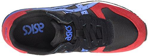 Asics Erwachsene 9042 OC Black Classic Sneaker Schwarz Unisex Blue Runner w4TrPxw