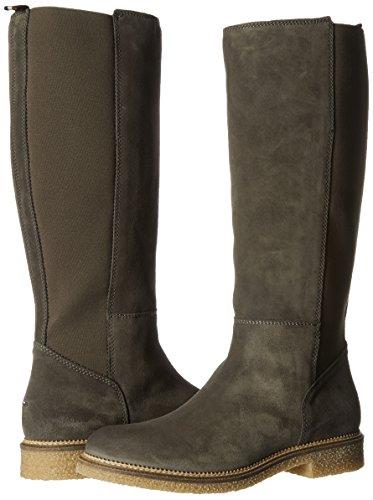 2b Grey Grey Boots Jeans steel Women's Tommy H1385azel HtCAwpq