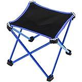 WAOBE Portable Folding Chair Outdoor Folding Chair Outdoor Fishing Sketching Leisure Stool For Enjoying Life