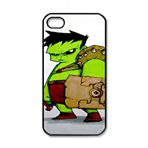 iPhone 4 4s Black Cell Phone Case Hulk STY792464 Hard Phone Case
