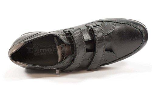 Mode Homme MOBILS Semelle Amovible Batiste Baskets Oui Noir Noir 1PPxnOFqt
