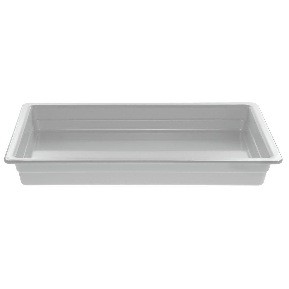 Cold Food Bar Pan Full SizeWhite Melamine - 20 3/4 L x 12 3/4 W x 2 1/2 H
