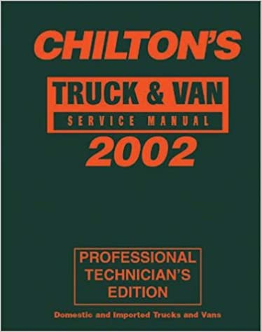 Truck van service manual 1998 2002 chilton service manuals truck van service manual 1998 2002 chilton service manuals 1st edition fandeluxe Gallery