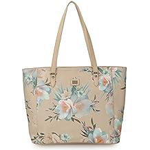 DAVIDJONES Woman's Tote Handbags PU Leather Flora Top Handle Shoulder Purse