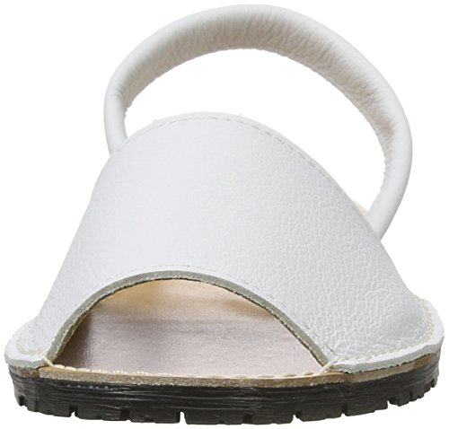 Tamaris Women's 28916 Sling Back Sandals White (White Leather 117) 7Drm3