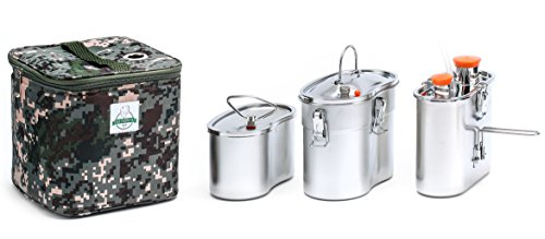 Old Faithful Flameless Geyser Portable Cooking System - Cook Anywhere Without Fire - MRE Freeze Dried Backpacking Camping Emergency Bug Out