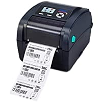 TSC 99-059A003-20LF Desktop Thermal Transfer Barcode Printer,TC200, 203 dpi, 6 IPS, Ethernet/USB/Serial/Parallel, LCD Color Display
