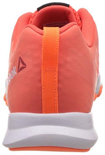 Reebok Everchill Train, Zapatillas de Deporte para Mujer Rojo / Naranja / Blanco (Atomic Red/Electric Peach/White)