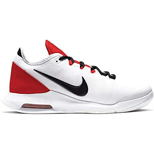 new style 15ecb 83a06 Nike Men s Air Max Wildcard Tennis Shoes (14 D US, White Black White University  Red)