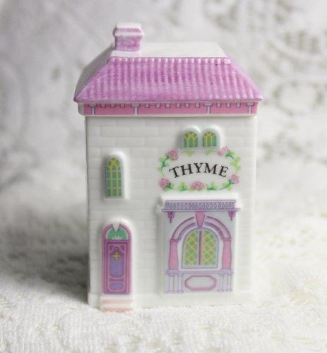 Lenox 'Spice Village' Porcelain Victorian House Spice Jar - Thyme