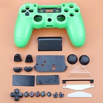 Carcasa Completa con Botones para Mando inalámbrico Sony Playstation 4 PS4 JDM-011 JDM-001 (Verde): Amazon.es: Electrónica