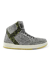 Converse Cons Unisex Weapon Mid Top Grey/White/Yellow Cotton Shoes