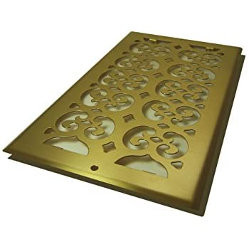 Amazon.com: Decor Grates SPH614-A Scroll Floor Register, 6-Inch by ...