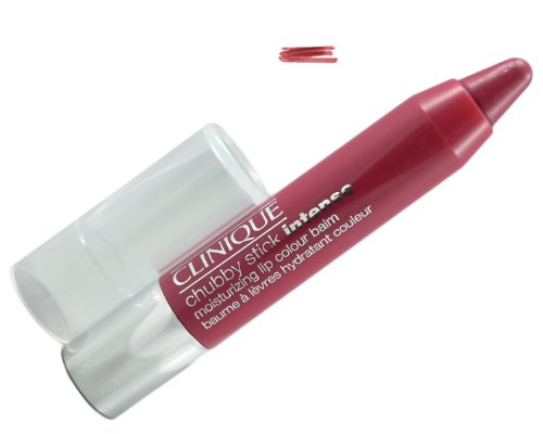 Lipstick Rose Clinique (Clinique Chubby Stick - Intense Moisturizing Lip Color Balm (Full Samples Size) (06 Roomiest Rose))