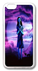 iphone 6 plus Case, iphone 6 plus Cases Nightmare Before Christmas tim burton TPU Rubber Soft Case Back Cover for iphone 6 plus 5.5 Inches Transparent