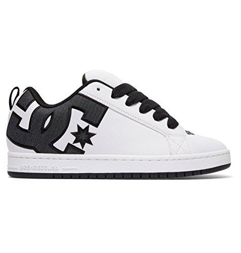 DC Shoes Scarpe Court Graffik White/Charcoal 42