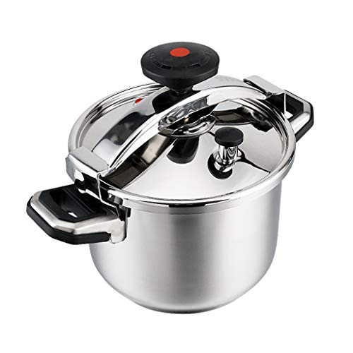 Pressure Cookers Household Stainless Steel Pressure Cooker Portable Outdoor Camping High Altitude Explosion-proof Mini Pressure Cooker Explosion Proof (Size : 4l)