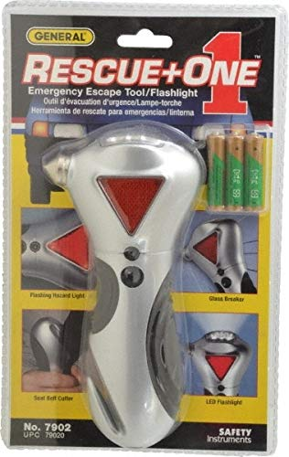 1 Piece, Rescue One 4 Function Emergency Auto Escape Tool pack of 10