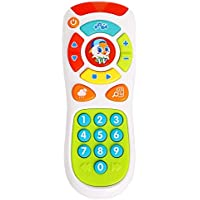 Mayatra's Baby Toys Electric Click & Count Remote with Light & Music Kids Early Learning Educational Toys