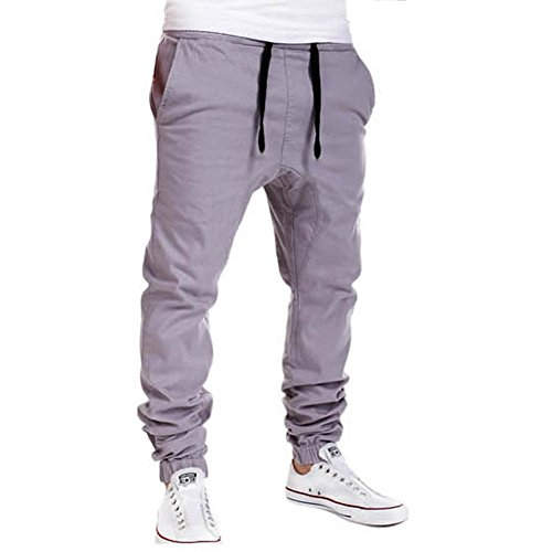 School Tracksuit - ROBO Men's Tracksuit Bottoms Sports Exercise Jogging Running Pants Trousers Jog Sweatpants Gym Sportswear