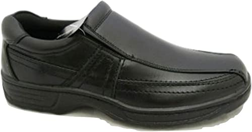 Cushion Walk Men's Leather-Lined