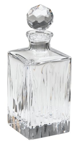 [Reed & Barton Crystal Soho Square Decanter] (Soho Wine Decanter)