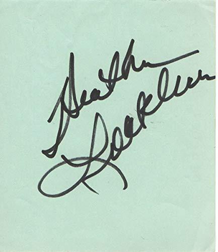 Heather Locklear Signed Autographed Paper Cut Melrose Place Dynasty JSA FF53023 from Cardboard Legends Online