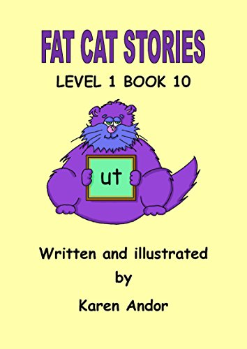 Fat Cat Stories Level 1 Book 10 ut Word Family -