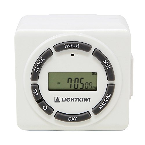 Low Voltage Outdoor Lighting Digital Timer