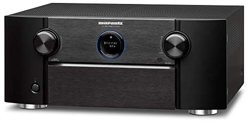 Marantz AV7705 11.2 Channel AV Audio Component Pre-Amplifier | IMAX Enhanced, Auro-3D & Dolby Surround Sound | Music Streaming via Wi-Fi, Bluetooth | Amazon Alexa Compatibility (Cert