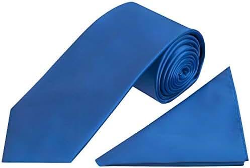 TiesRUs - Conjunto - para hombre Azul azul eléctrico: Amazon.es ...