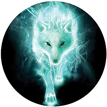 Reflektierende Aufkleber Für Helm Wolf Neon Auto