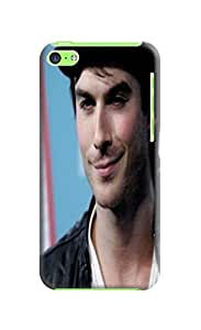 Custom Cool Ian Somerhalder fashionable TPU Cellphone Protector Cover Case for iphone 5c