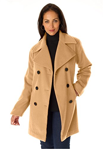 Jessica Fully Lined Peacoat - 1