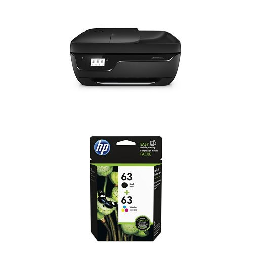 HP Officejet 3830 Wireless Color Photo Printer with Scanner and Copier with Ink Bundle