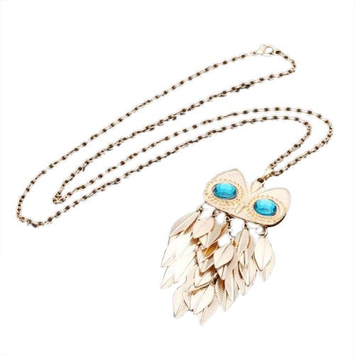 phitak shop Gold Long Necklace Chain
