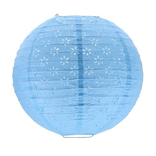 Farol colgante de papel estilo chino linternas fiesta festival colgante adornos bola de miel cumpleaños 30 – soporte...