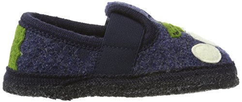 Haflinger Slipper Schnappi - Zapatillas de casa Unisex Niños Pantalon De Mezclilla (Jeans)