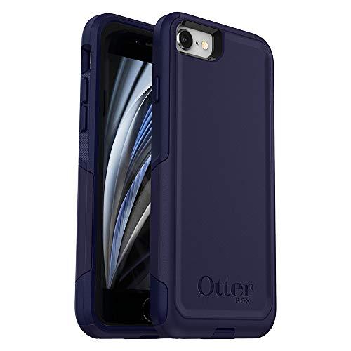 OtterBox Commuter Series Case for iPhone SE (2nd gen – 2020) – Indigo Way (Maritime Blue/Admiral Blue)
