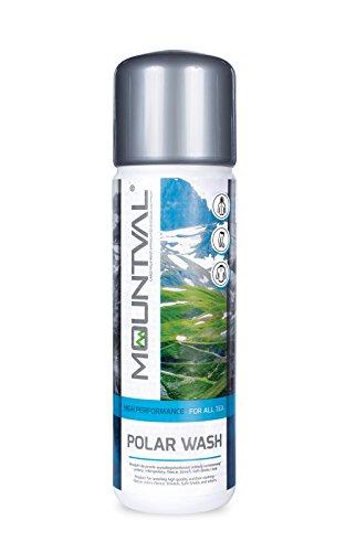 Wash Polar Fleece - Mountval Polar Wash, Performance Wash-In Cleaner For Fleece and Softshell Gear