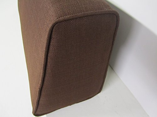 Wedge Bolster with Cover (Linen-Chocolate)