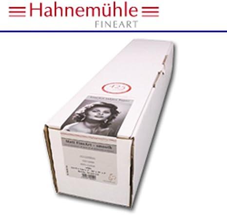 Hahnemühle PhotoRag 61cmx12m - Papel para plotter: Amazon.es: Oficina y papelería