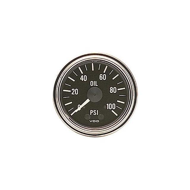 VDO 150 330 Oil Pressure Gauge