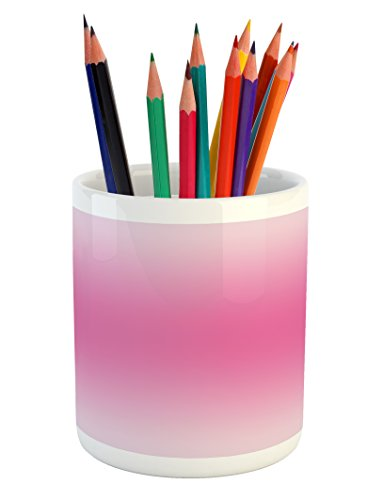 Ambesonne Ombre Pencil Pen Holder, Medieval Fairytale Style