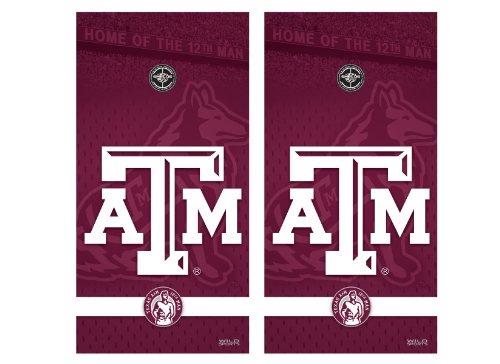 NCAA College Texas A&M Aggies Cornhole Shield Texas A&m College Vinyl