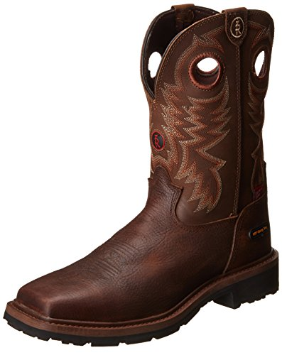 Tony Lama Men's Grizzly W/p Comp Toe Western Boot,Briar,1...