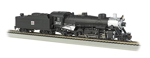 Bachmann Industries Trains Usra Light 2-8-2 Dcc Ready Western Pacific #302 with Medium Tender Ho Scale Steam Locomotive