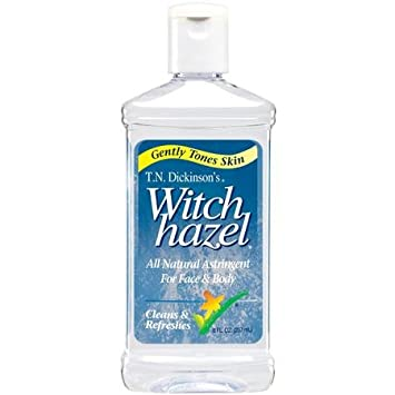 2 Pack Dickinsons Original Witch Hazel Gentle Skin Cleanser 100% Natural 6oz Ea 5 In 1 Body Face Skin Care Cleaning Wash Brush SPA Facial Beauty Relief Massage with Latex Soft Sponge Rolling Massager