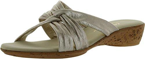 (Onex Women's Sail Sandal,Platinum,8 M US)