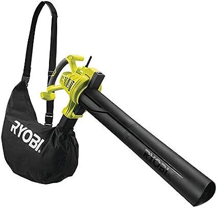 Ryobi RBV3000CSV RBV3000CSV-Aspirador, soplador, triturador (2 en 1, 3000 W), Negro, Verde: Amazon.es: Bricolaje y herramientas